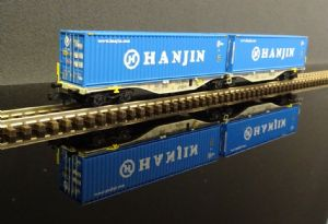 NW-101 AAE Double container wagon